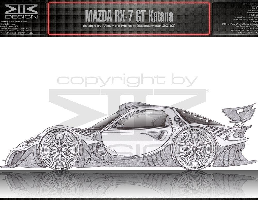 MAZDA RX-7 GT Katana by ~M2M-design on deviantART