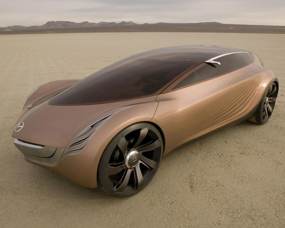 Mazda Nagare Concept Front And Side Wallpaper with 1280x960 Resolution