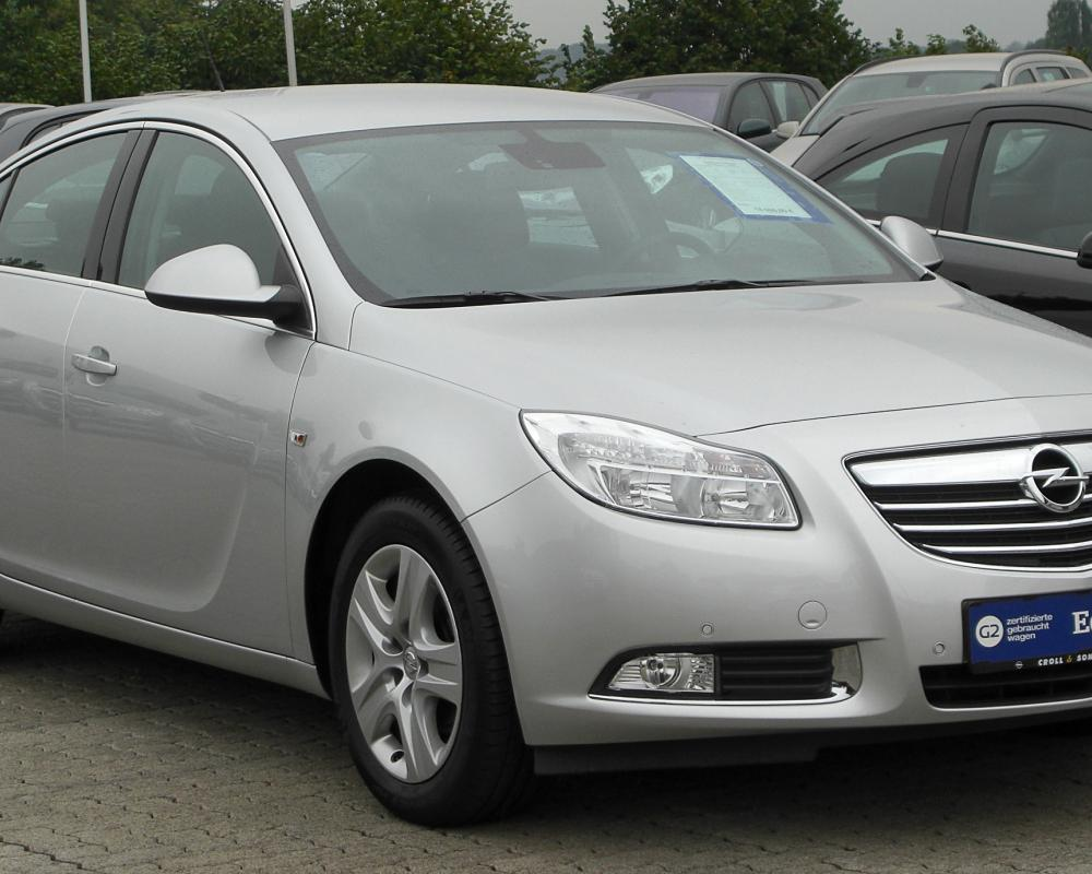 File:Opel Insignia 1.6 Edition front 20100912.jpg