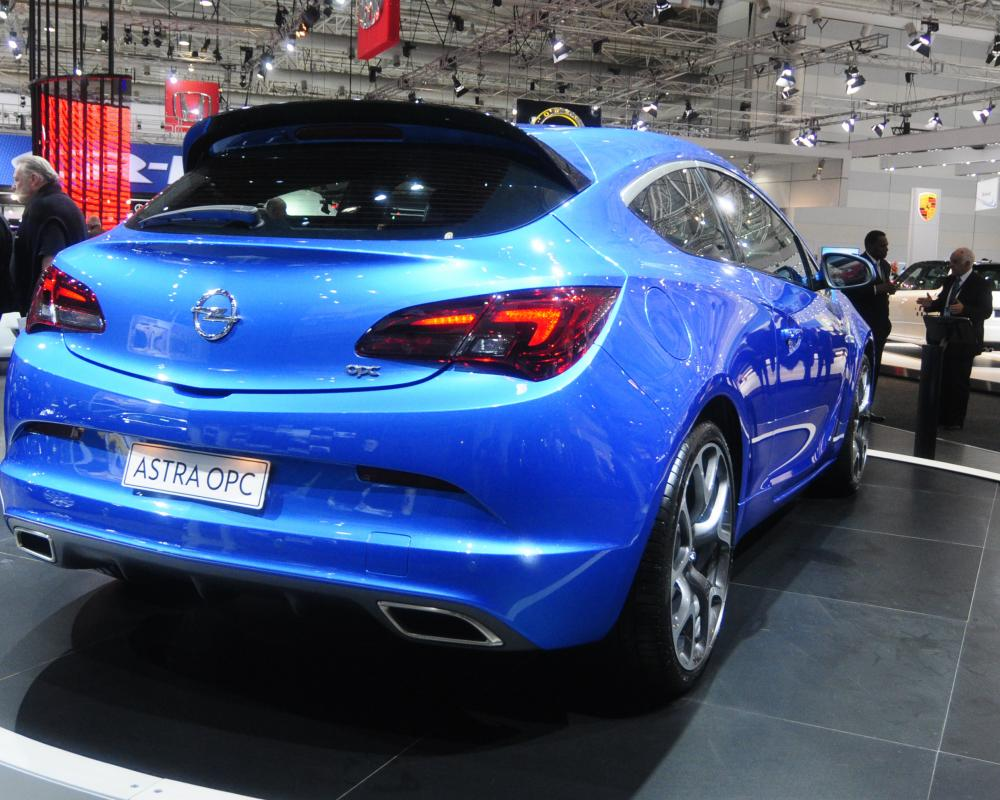 2013 Opel Astra OPC Priced From $42,990 In Australia - Sydney Motor Show