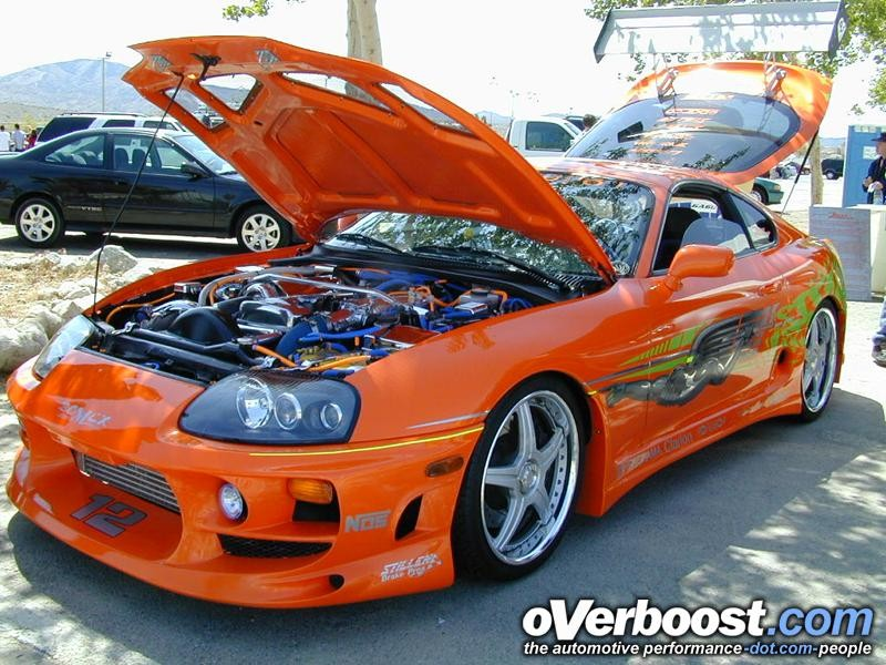 Toyota Supra Tuned. Click on image to view full size. Details