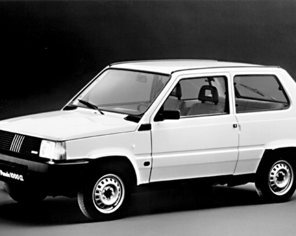 The 'Classic' Fiat Panda was in production for 23 years between 1980 and