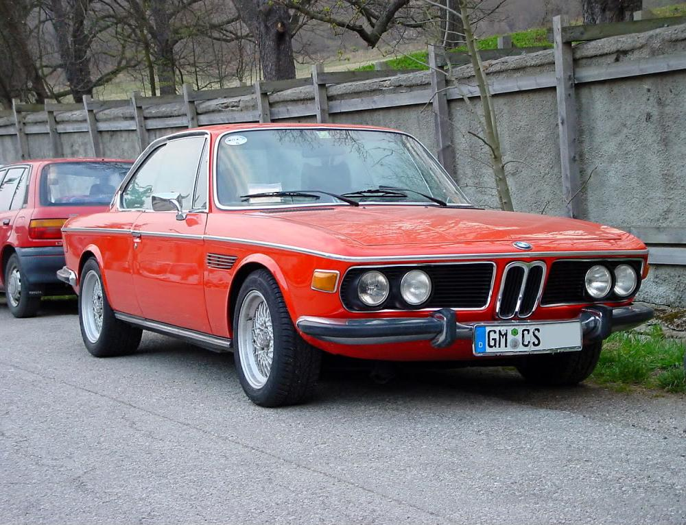 These are some nice pictures of the BMW 3.0 CSI which were mostly produced