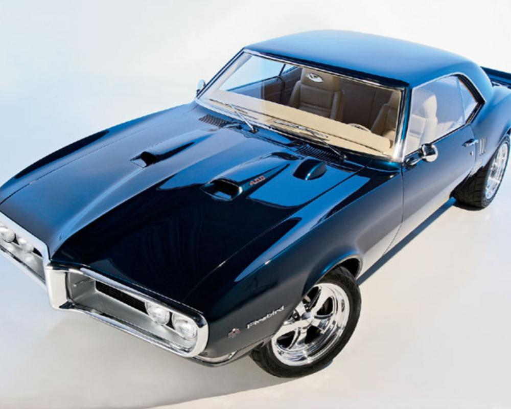 1968 Pontiac Firebird Top View
