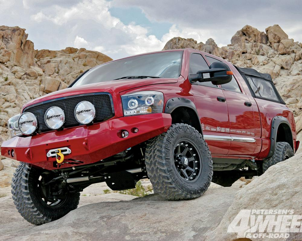 Dodge Ram 2500 3500 Power Wagon Front Winch