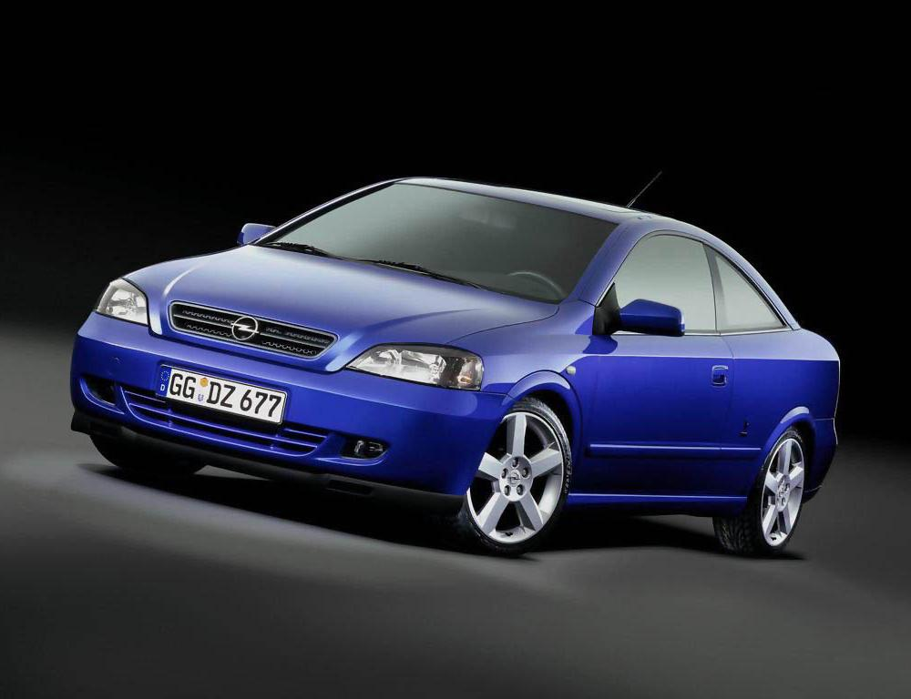 Opel Astra Coupe — a model manufactured by Opel.
