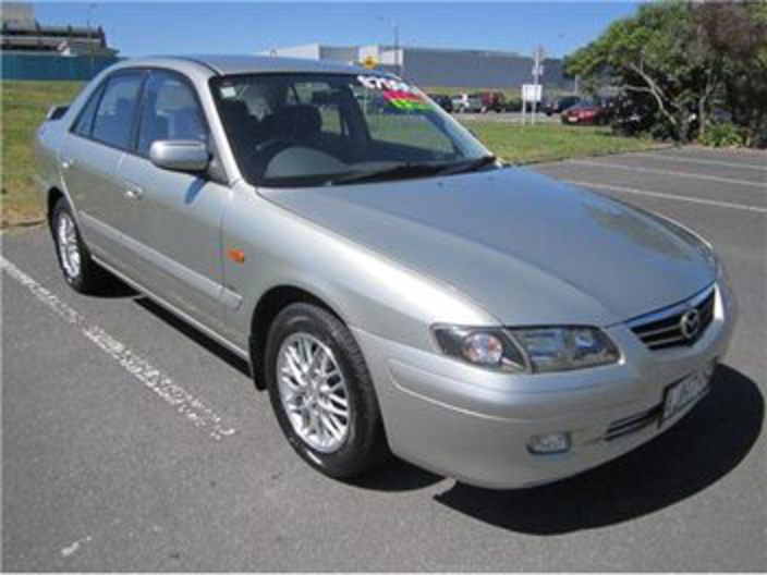 Mazda 626 GSX 5 SPEED LOW KMS NZ NEW 2001