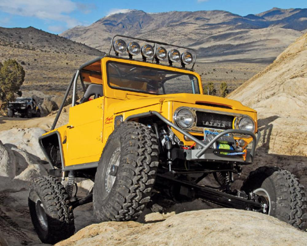 toyota land cruiser fj40 4x4 top drive