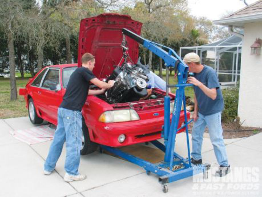 1989 Ford Mustang GT 351 Windsor Engine Part 3