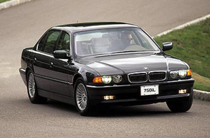 2000 BMW 750iL pictures and wallpaper