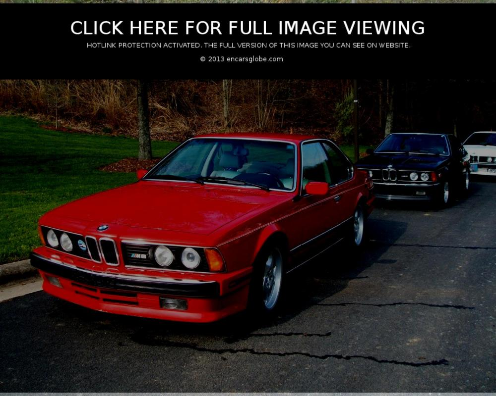 BMW M 635 CSi: 11 photo