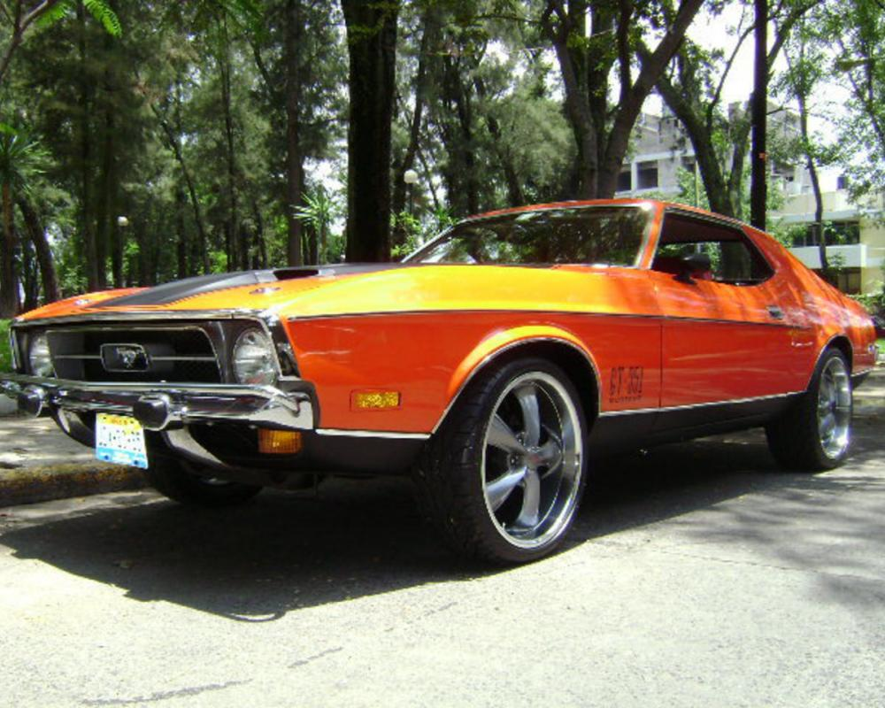 "1972 Ford Mustang ""gt 351"" - GUADALAJARA, owned by Importwheels Page:1 at"