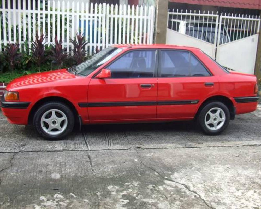 Mazda 323 LX 11 - huge collection of cars, auto news and reviews,