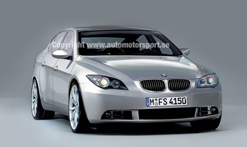 Model BMW 5 Series is begining 1972 in Germany.
