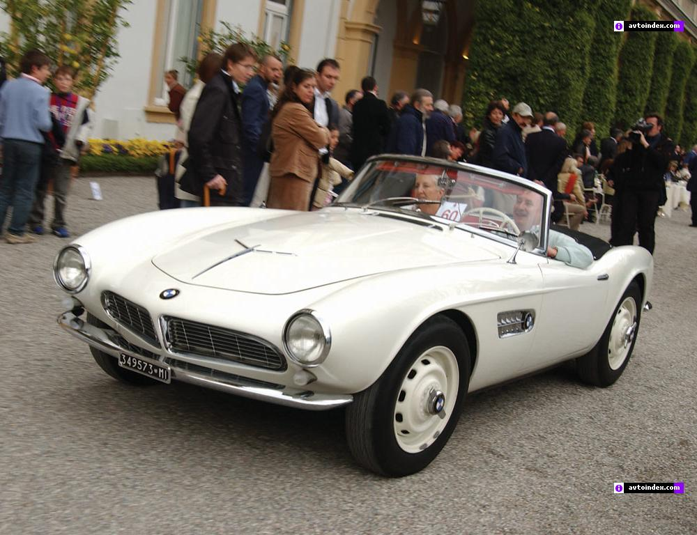 Model BMW 507 is begining 1955 in Germany. The end of make is 1959.