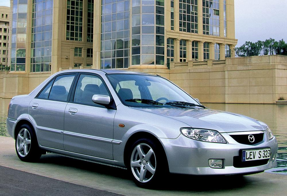 The Mazda 323 is another one of the many good models manufactured by the