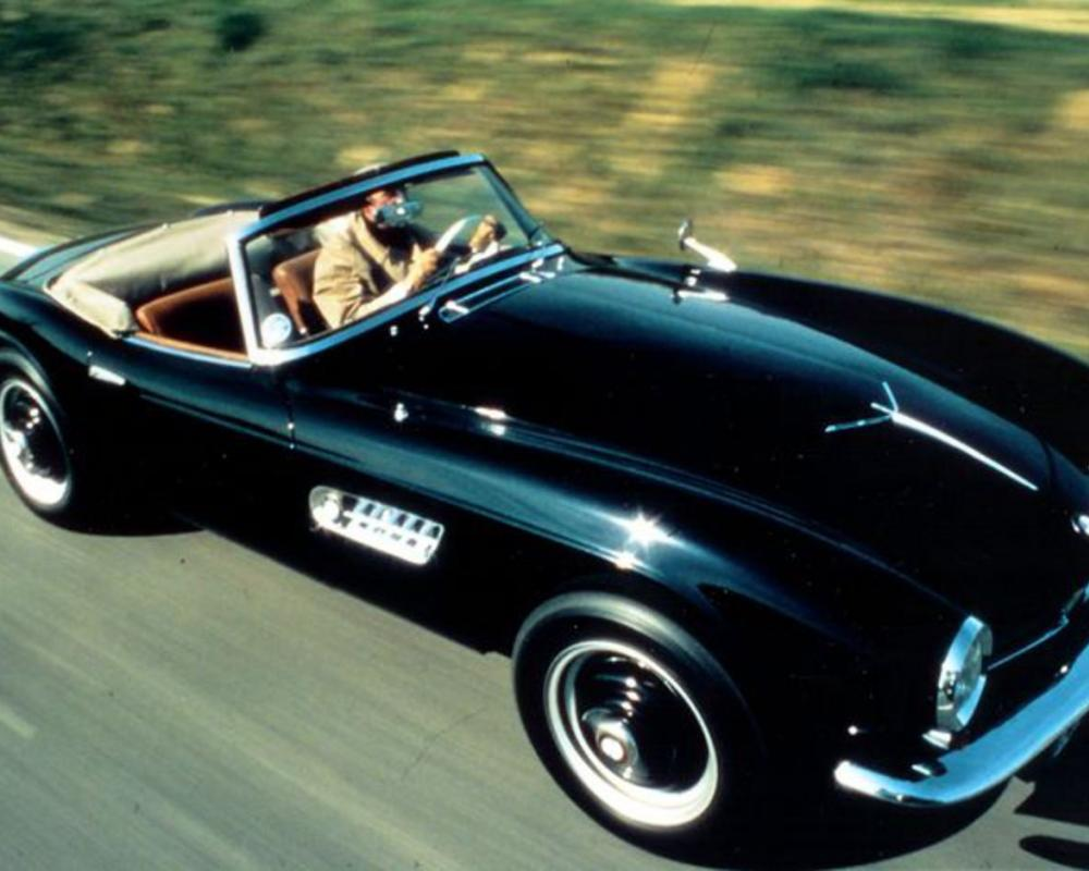 The BMW 507 Roadster. Few countries are as gifted with engines as Germany.