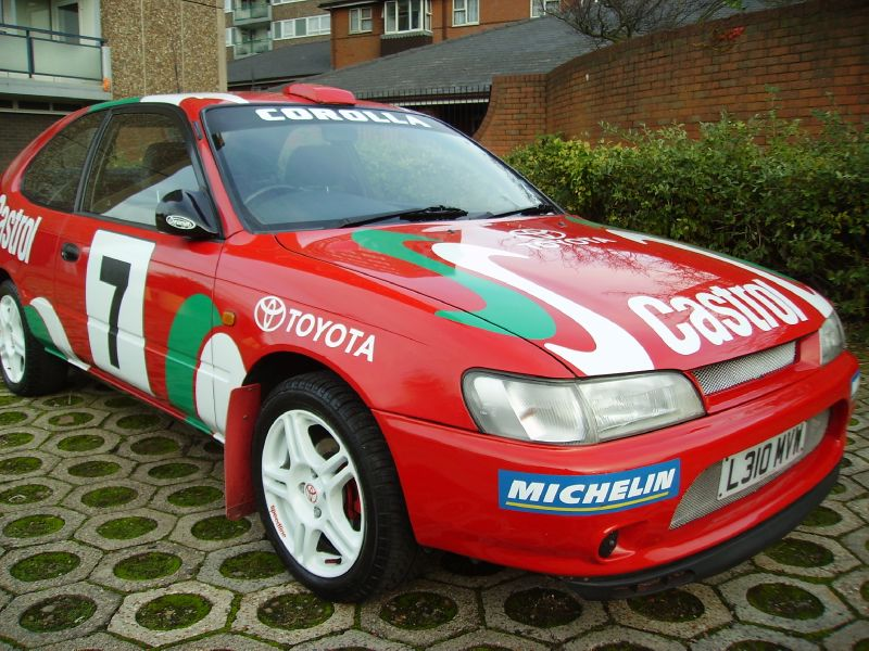 1993 Toyota Corolla Rally replica No engine mods purely visual for Sale