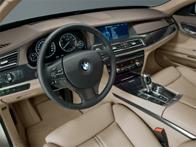 2009 BMW 750il Inside