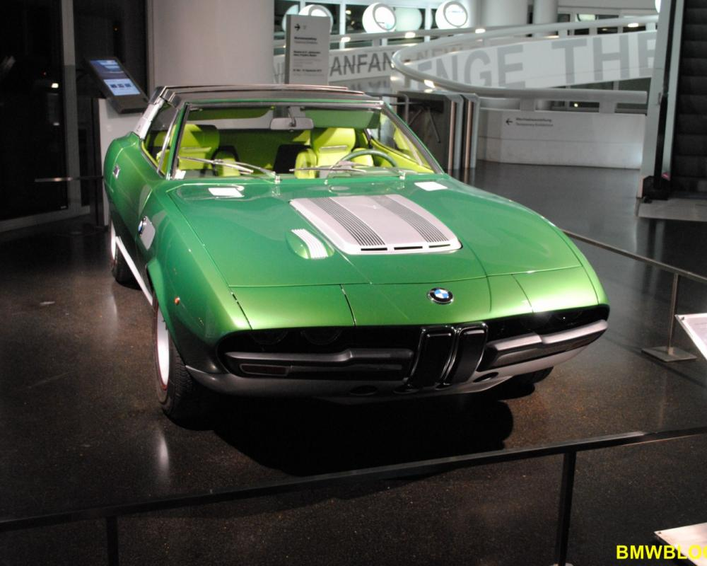1969 Bertone BMW 2800 Spicup-5. The Spicup term also referred to the roof