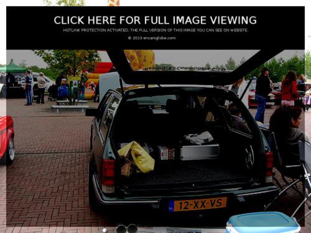 11, Opel Commodore Caravan