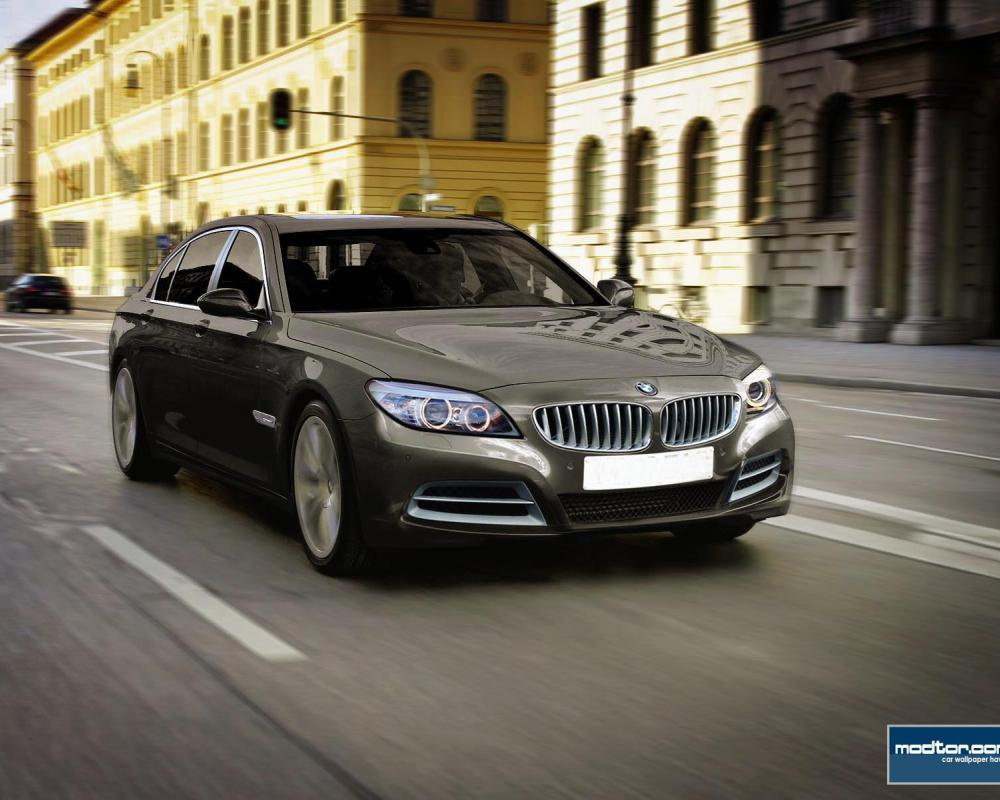 bmw-m7 rendering. The 7 Series GT would have been BMW's flagship,