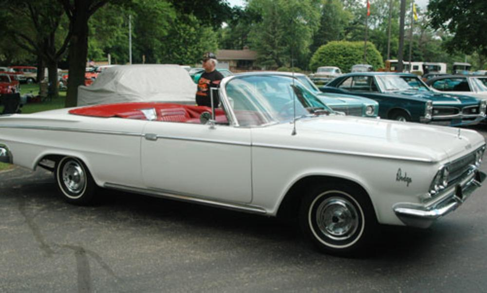 Car of the Week: 1963 Dodge 880 Custom Convertible
