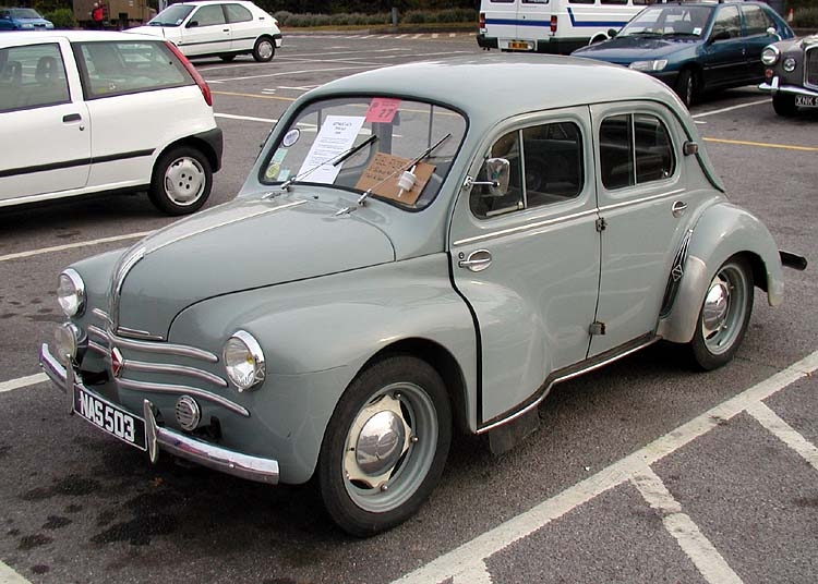Renault 4CV 750. Author: best. Date: 11.12.2012. Views: 55912