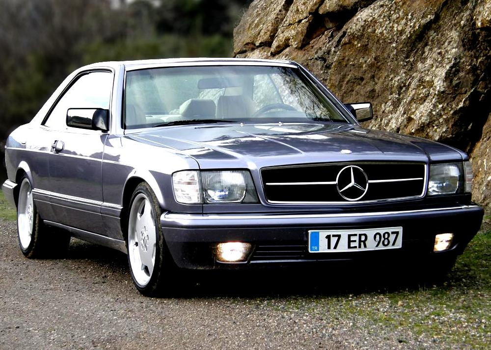 Mercedes Benz 500 SEC 1982 Technical Specifications