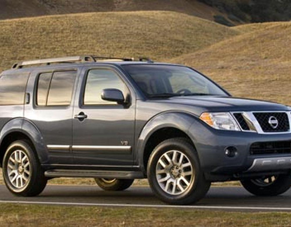 2008 Nissan Pathfinder. WALLPAPER; PRINT; RETURN TO ARTICLE