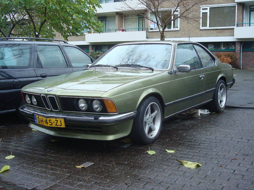 1979 BMW 633 CSI (automatic)