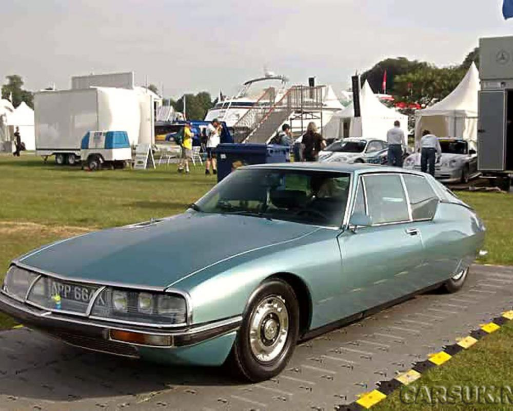 Citroen SM Supercar - Spawned from the legendary Citroen DS