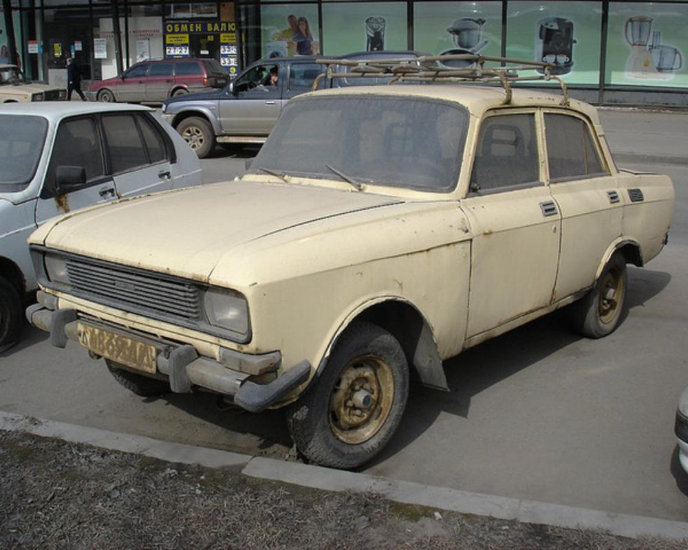 Flickr: The Soviet cars: Moskvich Pool