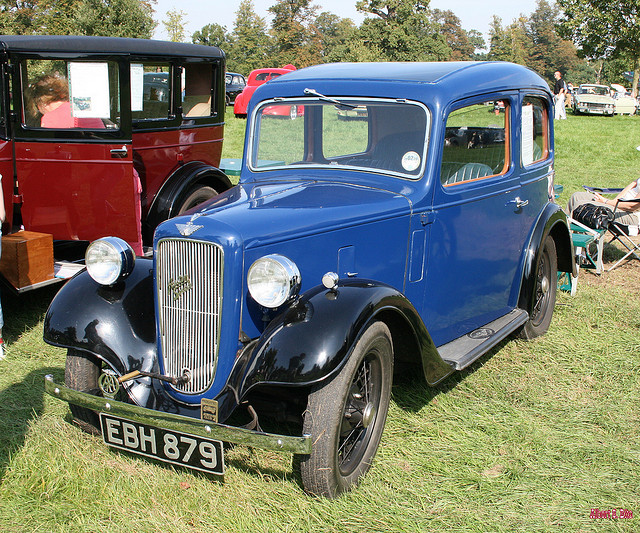 1937 Austin Seven Ruby Saloon | Flickr - Photo Sharing!