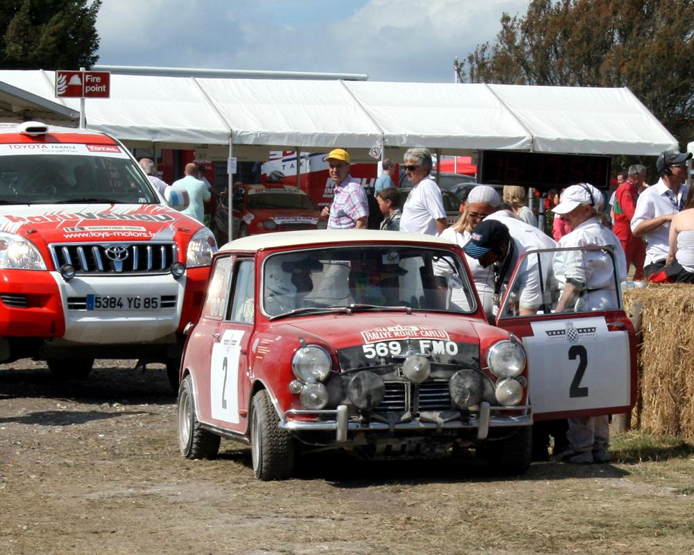 Austin Mini Cooper S Rally Car | Flickr - Photo Sharing!