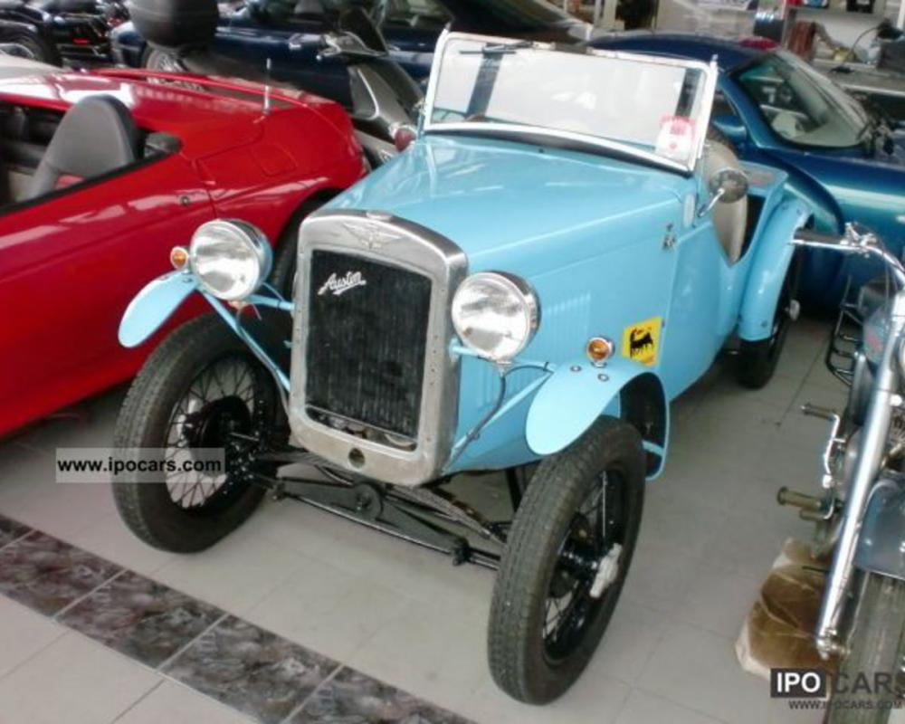 1935 Austin Seven 7 roadster 1935 \ - Car Photo and Specs