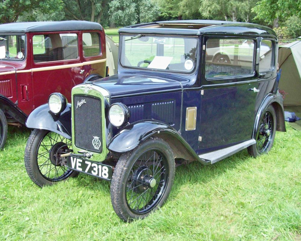 54 Austin Seven RN Saloon (1932) | Flickr - Photo Sharing!