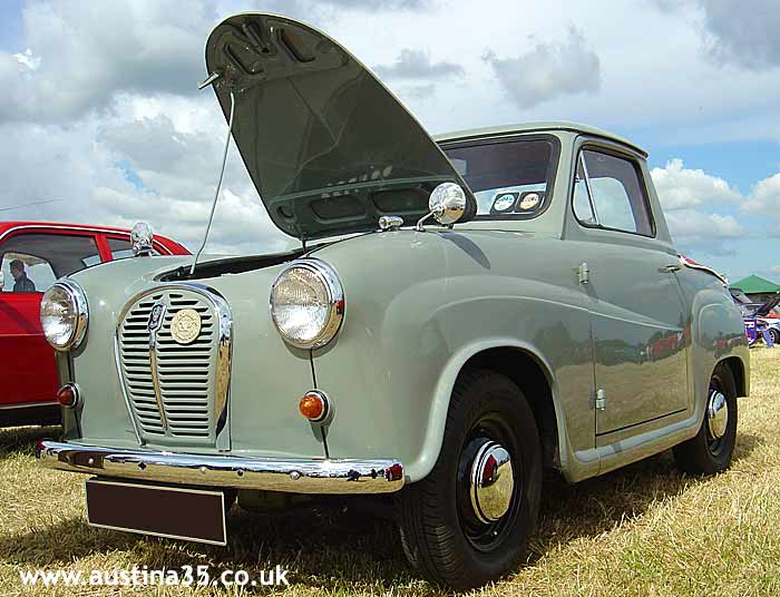 Austin's A35 car, van and countryman