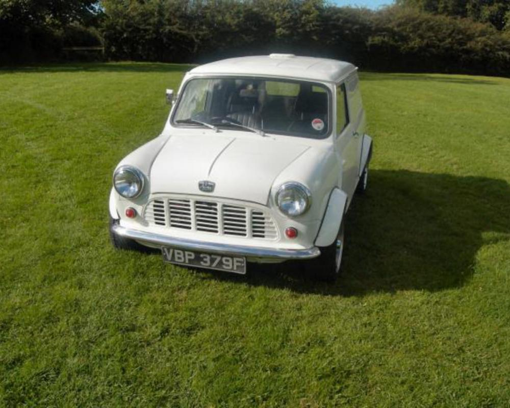 Images Of Austin Mini A35 Panel Van Pickup K2 Wallpaper - kootation.