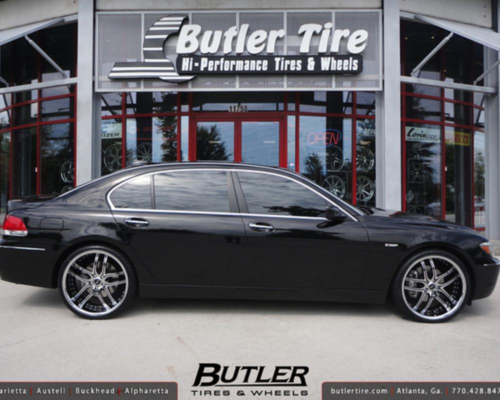 BMW 750i with 22in Savini BS2 Wheels | Flickr - Photo Sharing!