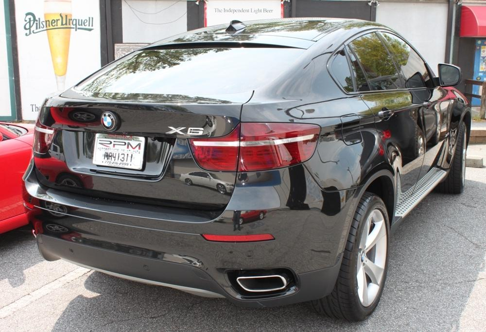 BMW X6 Tinted Tail Lights | Flickr - Photo Sharing!