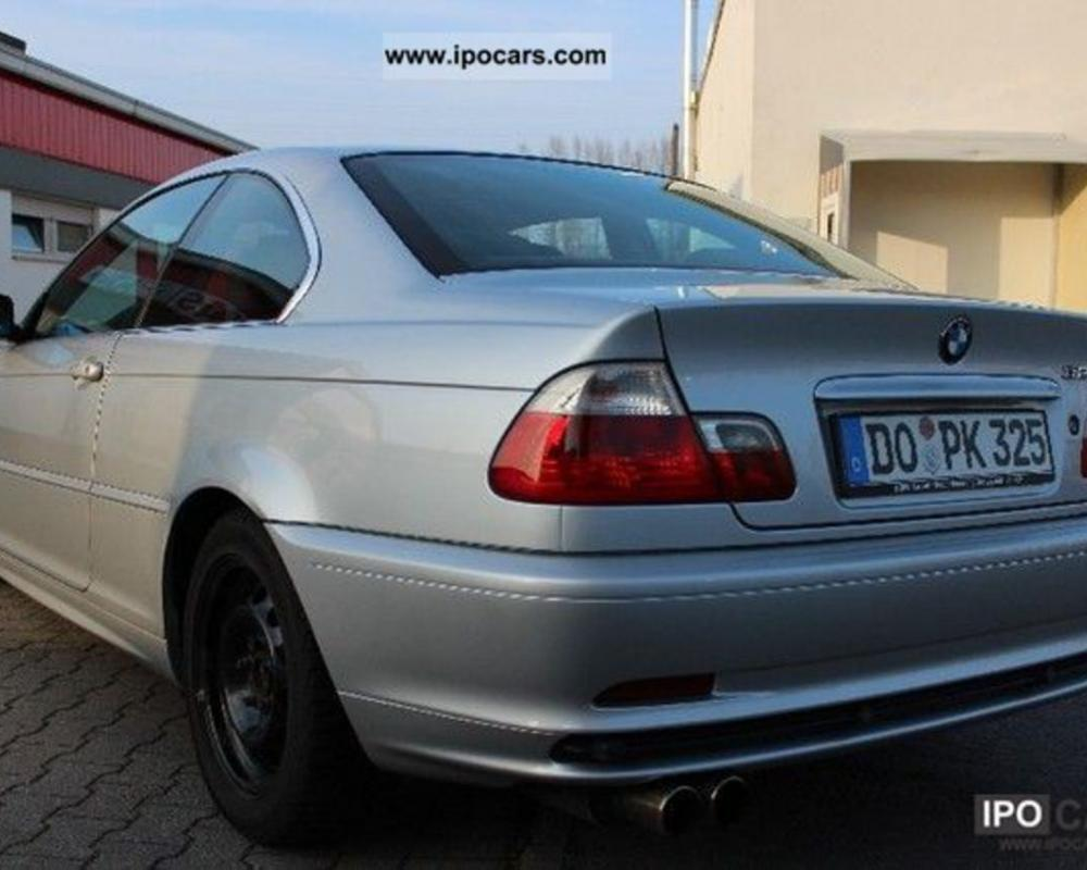 2002 BMW 325 Ci - Car Photo and Specs