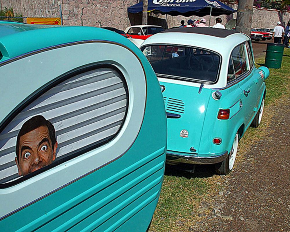BMW Isetta 600 Limo & Mr. Bean | Flickr - Photo Sharing!