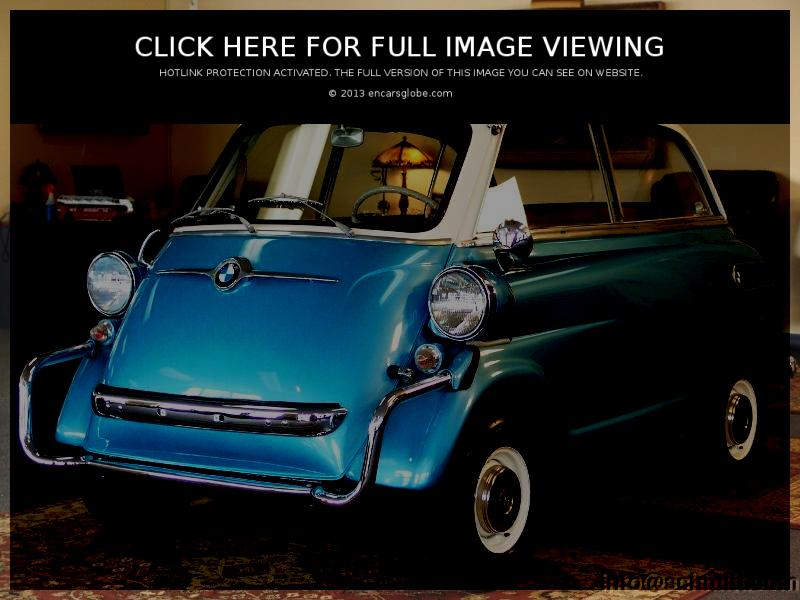 BMW-Isetta 600: Description of the model, photo gallery ...