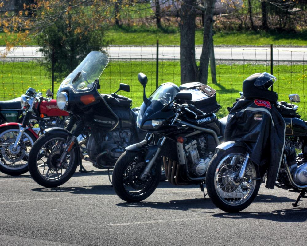 Vintage Motorcycles on Display at the PVR 2011 Road Ride | Flickr ...