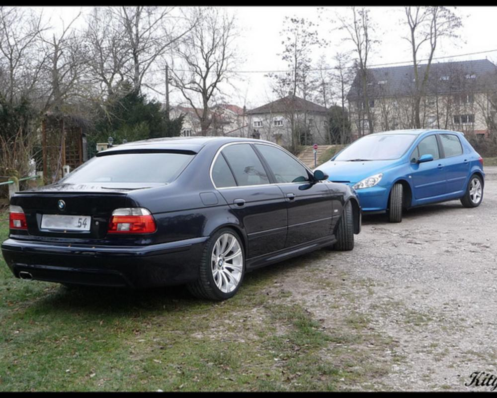 BMW 530 VS Peugeot 307 XSi | Flickr - Photo Sharing!