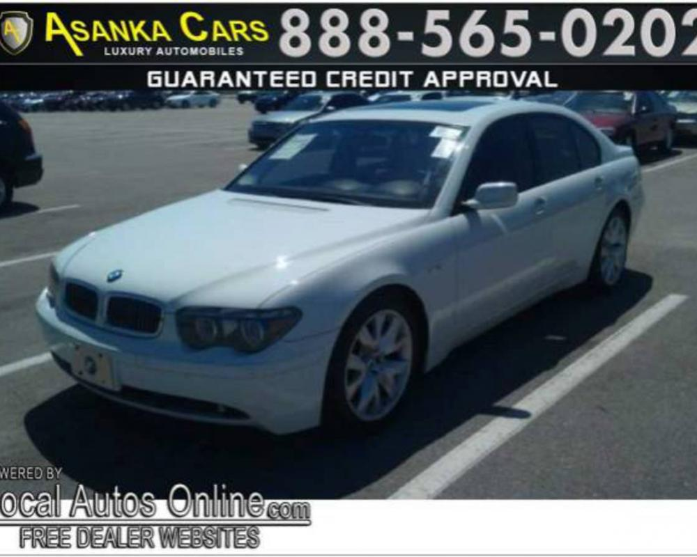 2004 BMW 745I sold on fyiAuto.com in Hollywood | 33073 - BMW The ...