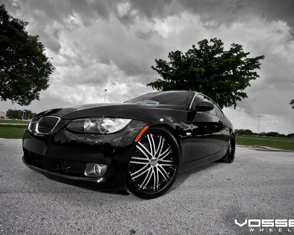 BMW 3-Series Coupe with Vossen VVS-082 Wheels | Flickr - Photo ...