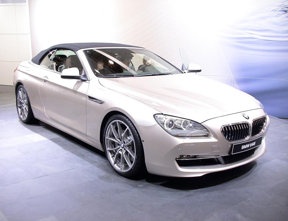 Bmw 640i cabriolet pictures. Photo 8.