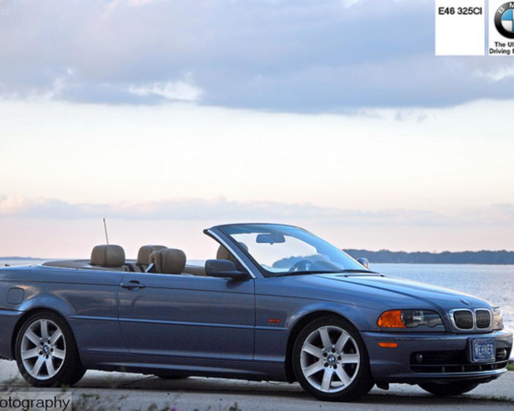BMW E46 325ci convertible poster shot | Flickr - Photo Sharing!